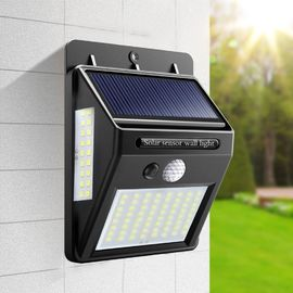 Rechargeable Solar Motion Sensor Light ON / OFF Automatically For Outdoor Garden