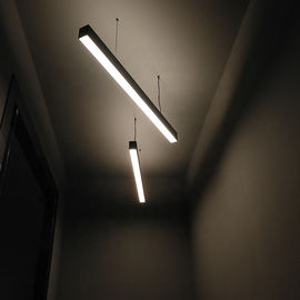 Office Linear LED Pendant Lights Anti Corrosion Aluminum Lamp Body