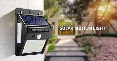 ON / OFF Automatically Solar Motion Sensor Light Easy Installation For Home
